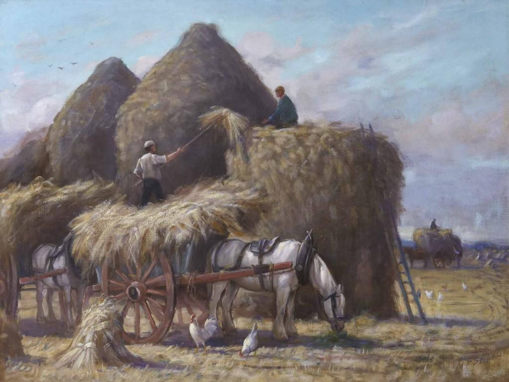 The Hay Harvest by M. Fleming Struthers