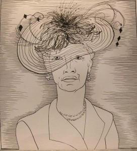 Stirling fashionista, milliner, teacher, needlewoman and Smith volunteer Mary Rennie