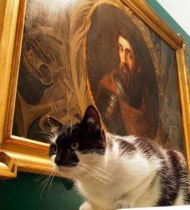 Museum cat Oswald and William Wallace