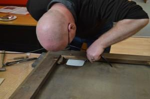 Conservation repair - Stirling Smith Art Gallery and Museum