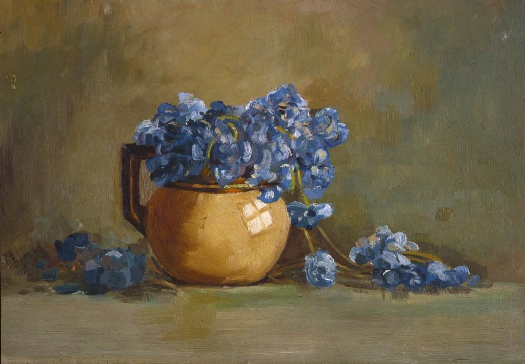 Flower Study By Margart Gilmour (1860-1942)