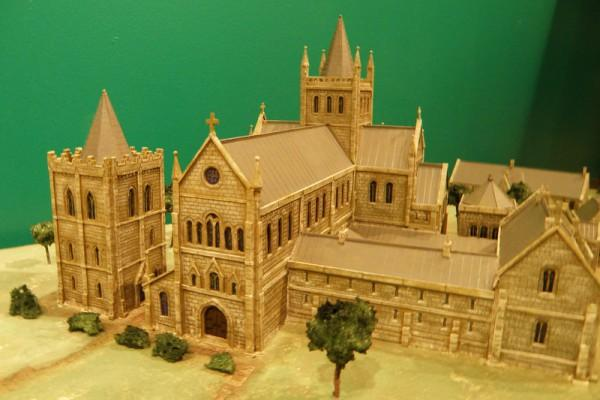 Model showing Cambuskenneth Abbey
