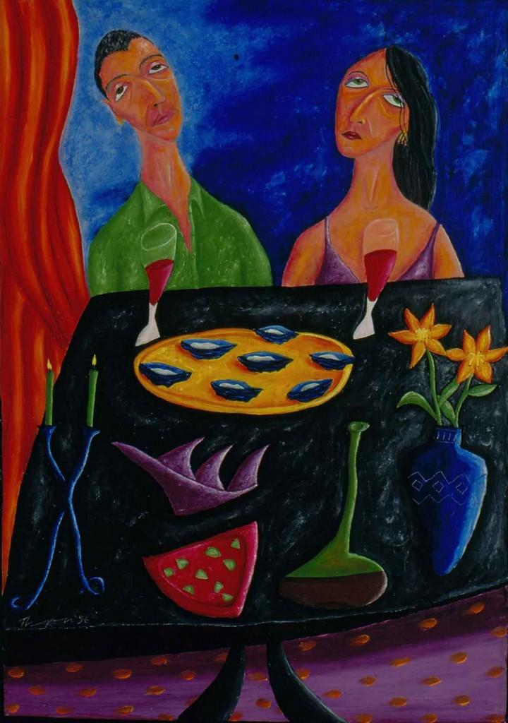 The Lovers' Last Lunch, 1997 Ian Thompson