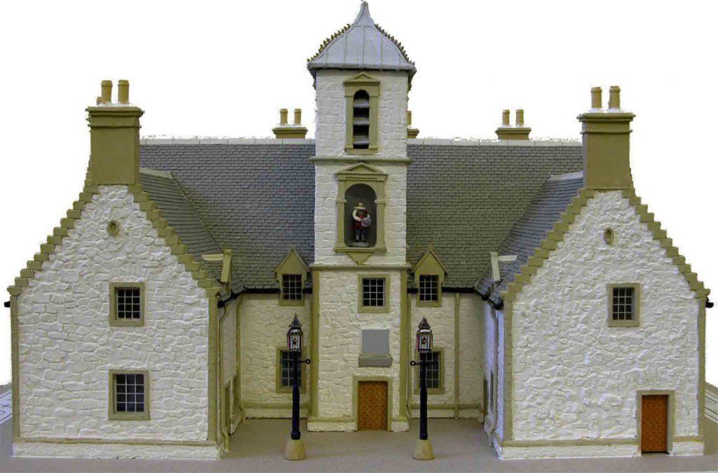 Model of Cowane's Hospital, George Reid, 1997