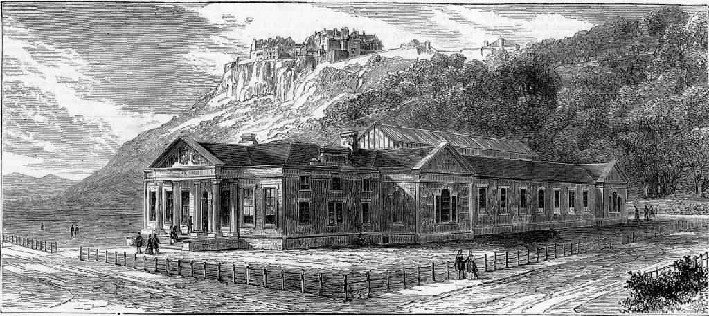 Stirling Smith Art Gallery and Museum (Smith Institute), The Graphic Magazine, August 1874