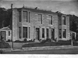 Cliff Bank, Albany Place, Stirling designed by architect John Allan