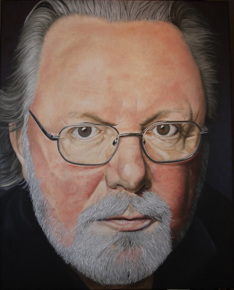 Peter May by Artist Lesley Donaghy