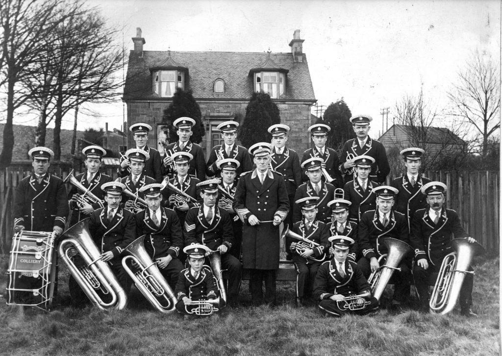 Bannockburn Colliery Silver Band,1928
