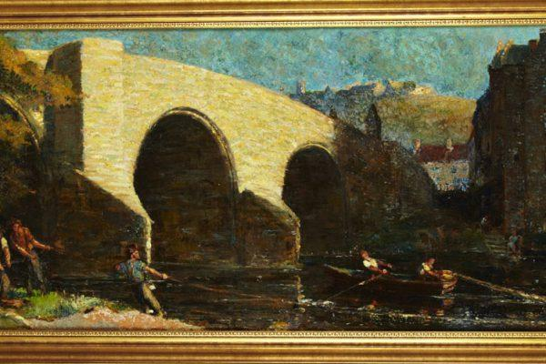 Old Stirling Bridge, 1915 by James Bisset Crockart, (1885 - 1974)